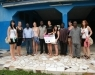Students from Brno visit our project in Ghana